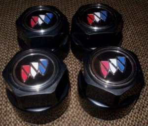 tri shield logo center caps