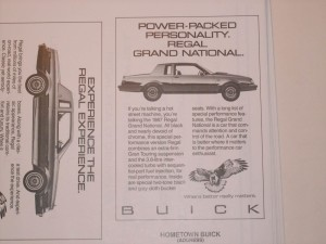 1987 buick dealer advertising workbook 3