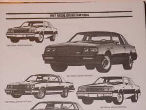 1987 buick dealer advertising workbook 5