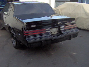 1985 buick rearview
