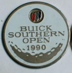 BUICK SOUTHERN OPEN 1990 GOLF PIN