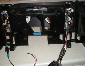 Buick GNX style dash cluster 3