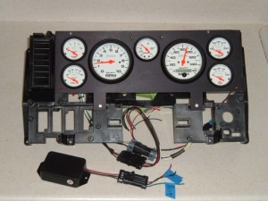 Buick GNX style dash cluster