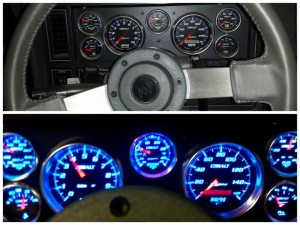 buick regal dash setup