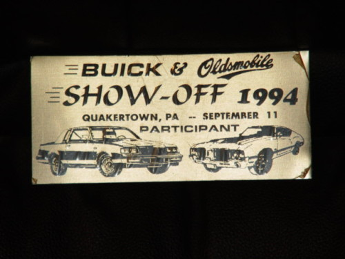 buick show off 1994
