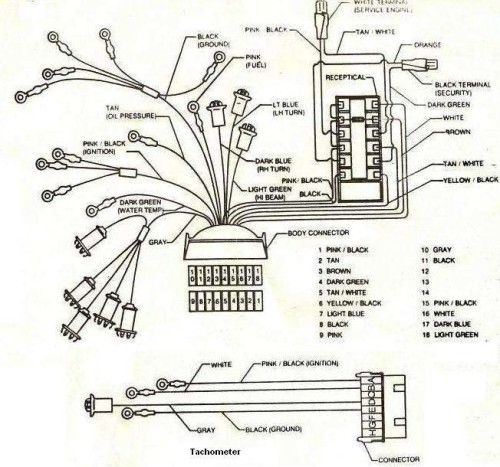 factory gnx wiring setup from asc