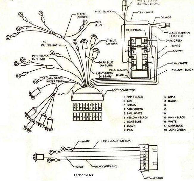 factory gnx wiring setup from asc buick gnx dash style type gauge cluster setups 1984 buick regal ac compressor wiring diagram at gsmx.co