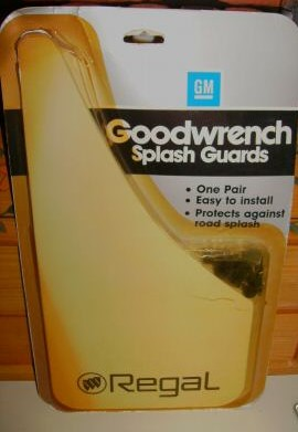 goodwrench regal splash guards