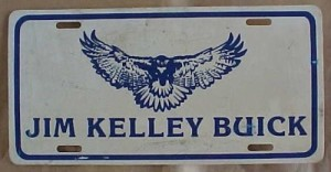 jim kelley buick hawk plate