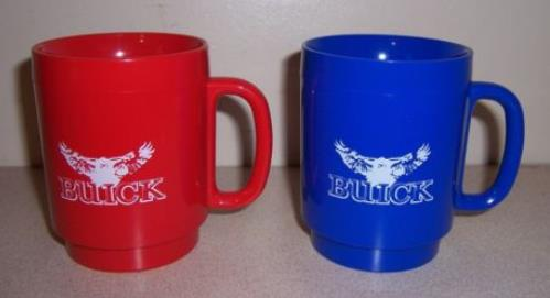 plastic buick dealer hawk mugs