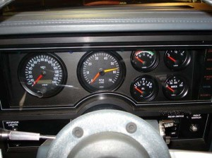 turbo buick dash cluster