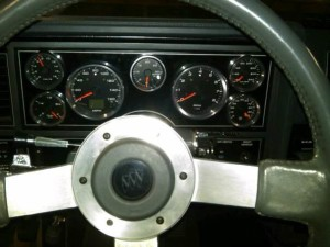 turbo buick gauges