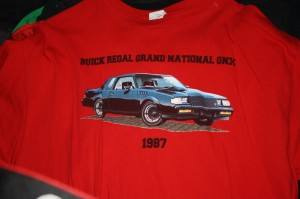 1987 buick regal grand national gnx sloan museum shirt