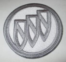 Buick 2.5 Round Embroidered Sew On Patch
