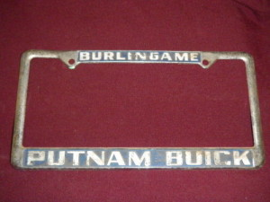 Burlingame Putnam Buick Dealership frame