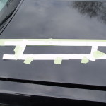 buick hood louver template