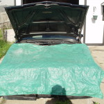 tarp the buick engine