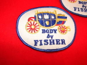 Fisher Body Coach GM Embroidered Patch