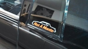 not a monte decal