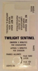 twilight sentinel decal for canada buick regal