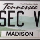 Buick Personal License Tags
