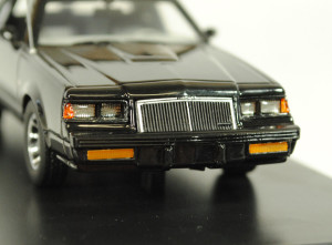 Auto World 1 43 1985 Buick Grand National Black 2
