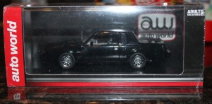 Auto World 1985 Buick Grand National - Black Body 1-43 Scale Resin 2