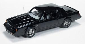 Auto World 1985 Buick Grand National - Black Body 1-43 Scale Resin