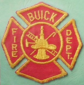 BUICK FIRE DEPT PATCH