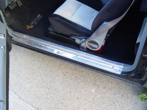 buick grand national chrome door sill