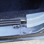 buick door sill screw holes