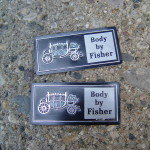 body by fisher nameplate