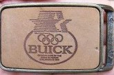 Buick Themed Belt Buckles & Cufflinks