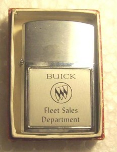 buick fleet sales cigarette lighter