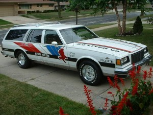 buick pace car station wagon 1