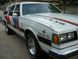 buick pace car station wagon 4