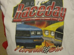 buick race day 2001 shirt