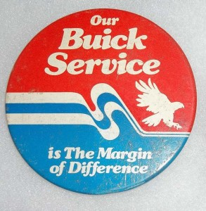 buick service button