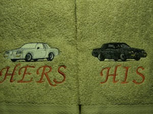 turbo buick towels