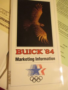 1984 Buick Dealer Introduction Folder 5