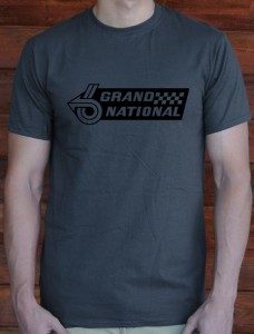 grand national emblem t-shirt