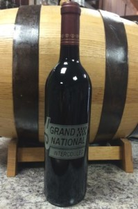 Buick Grand National Engraved Wine Bottle 1