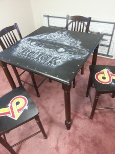 buick kitchen table and chairs