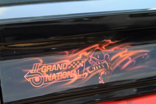 flames on buick gn 5