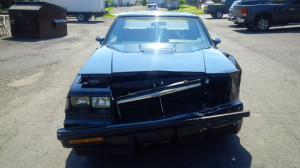 smashed buick grand national 2
