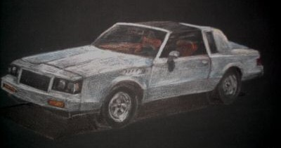 buick t type drawing