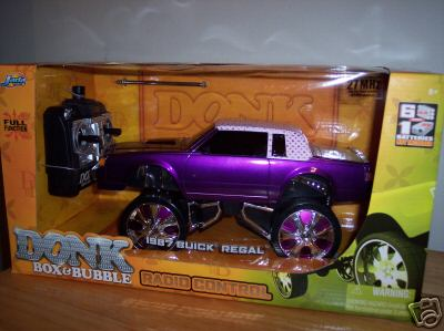 1 18 scale donk box & bubble rc car