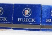 Buick Match Book Covers