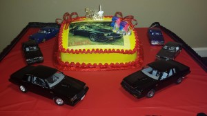 buick turbo regal cake