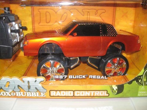 donk box bubble remote control orange